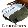 LordIron pitää puvun suorana matkalaukussa