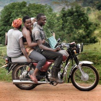 Boda boda -taxi on nopea